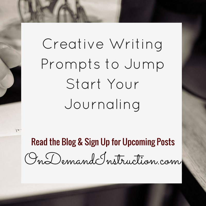 how do i start creative writing