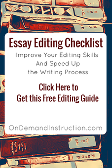 editing a process essay Short process essay writing guide to show you how to write process essay you can get your process essay written by professional process essay writers.