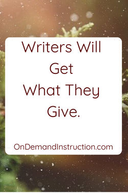 Do You Want People to Support Your Writing?
