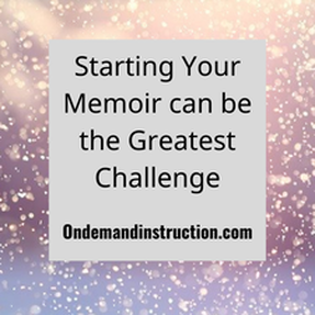 write your memoir with these prompts