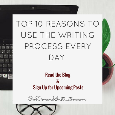 Use the Writing Process Every Day