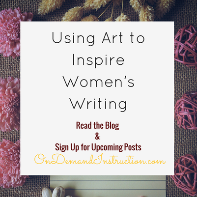 Art to Inspire Women's Writing