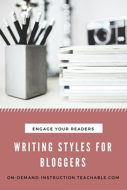 Writing for Bloggers Course